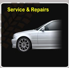 We Service and Repair cars